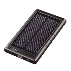 Išorinė baterija su saulės įkrovikliu Hama