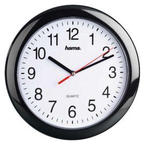 Sieninis laikrodis Hama PP-250 Quartz Wall Clock black