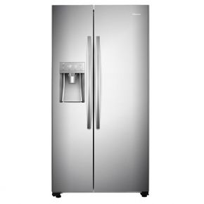 Dviduris šaldytuvas HISENSE SIDE BY SIDE 535L Water and ice dispenser inox A++ No frost