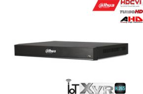 Pentabrid 4K įrašymo įrenginys 16kam. HDCVI/AHD/TVI/CVBS/IP, 4K 7fps, 4MP 15fps, IoT,H.265, 2HDD