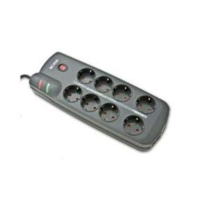 Elektros prailgintuvas Acme AC-14J 1.8 m 8 rozetės juodas