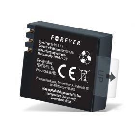 Akumuliatorius Sport camera 900mAh Li-ion baterija SC100, SC200