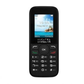 Mobilusis telefonas Alcatel 1050D Black Dual SIM, Camera, micro USB