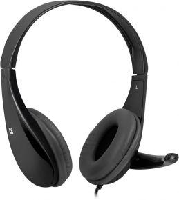 Ausinės su mikrofonu Defender Aura 111 black