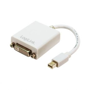 Adapteris Logilink Mini DisplayPort (M) to DVI-I (F)