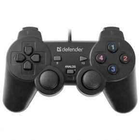 Žaidimų pultas Defender Omega USB 12