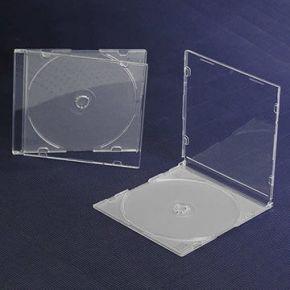 Tuščia 8 cm mini DVD diskų dėžutė
