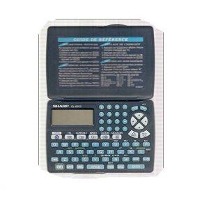 Organaizeris užrašinė Sharp EL-6810B