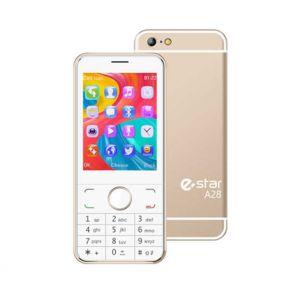 Mobilusis telefonas eSTAR A28 gold