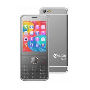 Mobilusis telefonas eSTAR A28 silver
