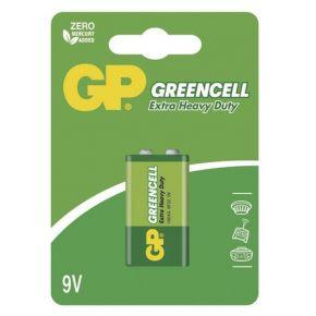 Elementai GP Greencell 6F22 (9 V) blister