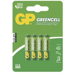Elementai GP Greencell R03 (AAA) 4vnt blister