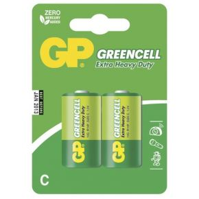 Elementai GP Greencell R14 (C) 2vnt blister