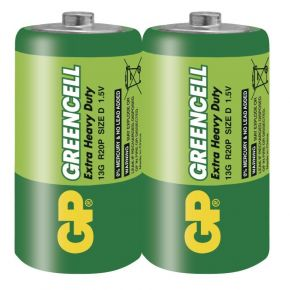 Elementai GP Greencell R20 (D) 2vnt