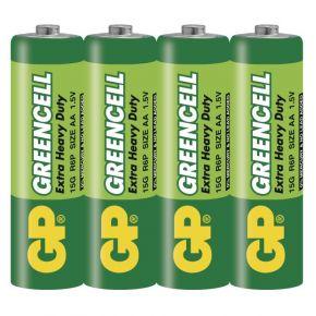 Elementai GP Greencell R6 (AA) 4vnt