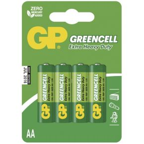 Elementai GP Greencell R6 (AA) 4vnt blister