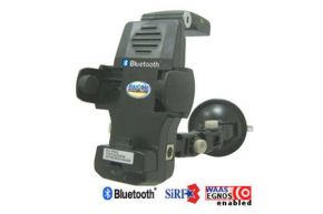 GPS imtuvas Haicom HI-701 BT laikiklis
