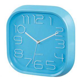 Sieninis laikrodis HAMA PG-280 Wall Clock silent blue