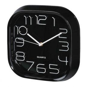 Sieninis laikrodis HAMA PG-280 Wall Clock silent black