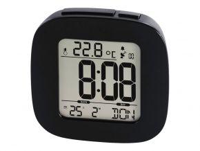 Laikrodis žadintuvas HAMA RC 45 Radio Controlled Alarm Clock black