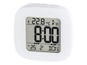 Laikrodis žadintuvas HAMA RC 45 Radio Controlled Alarm Clock white