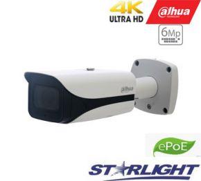 4K IP kamera STARLIGHTcilindrinė 8MP 15fps su IR iki 100m., H.265, IVS, 7-35mm, IP67, ePoE, IVS