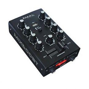 Mikšeris Ibiza MIX500BT USB, Bluetooth