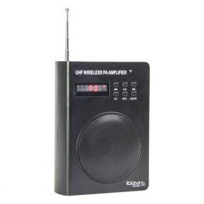 Nešiojama garso sistema Ibiza PORT3-UHF