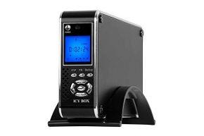 Media grotuvas Icy Box IB-MP302S-B