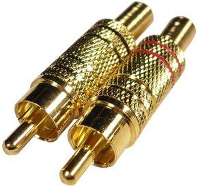 Kištukas RCA /auksinis/