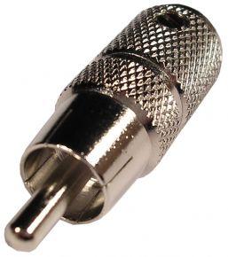 Kištukas RCA metalinis prisukamas /RG-59/