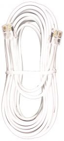 Laidinio telefono kabelis 2m. baltas