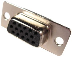 Lizdas HDB15 /kabeliui/