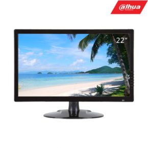 22'' industrinis LCD Monitorius, 1920×1080, VGA, HDMI×1, BNC×1 palaiko HDCVI, HDTVI, AHD, CVBS