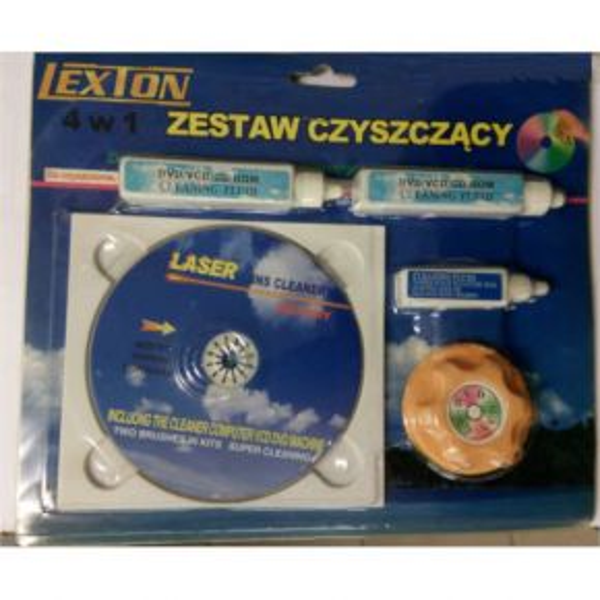 Valymo diskas mini DVD Allsop lens cleaner