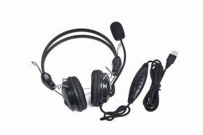 Ausinės su mikrofonu Gembird MHS-200 USB