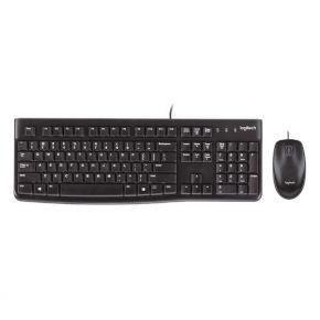 Klaviatūra  ir pelė Logitech Desktop MK120 USB US