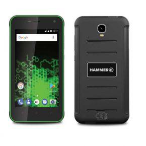 Mobilusis telefonas MyPhone Hammer Active black-green