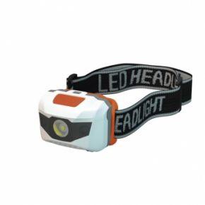 Prožektorius ant galvos 1 W LED + 2 LED 3xAAA P3521