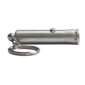 Rankinis prožektorius 1 LED 4xLR41 (viduje) raktų pakabukas