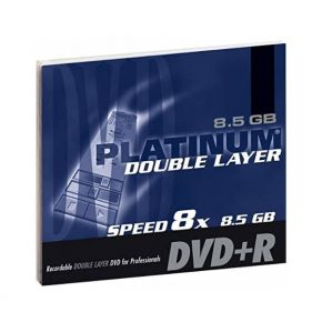 Diskas Platinum DVD+R 8.5GB Double layer