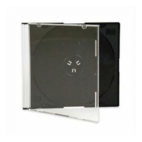 Tuščia CD dėžutė plona 5,2 mm juoda