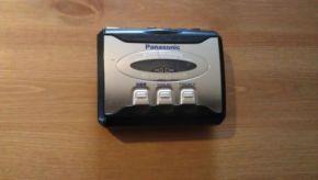 Ausinukas Panasonic RQ-P265E-K