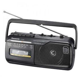 Radijas su kasečių grotuvu Panasonic RX-M40DE-K įrašantis