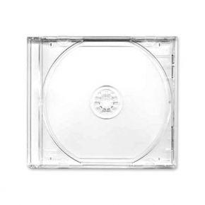 Tuščia CD dėžutė skaidri