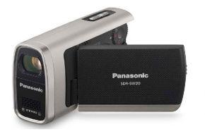 Vaizdo kamera Panasonic SDR-SW20EP-S