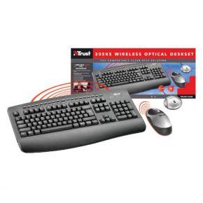 Bevielė klaviatūra ir pelė Trust 305KS