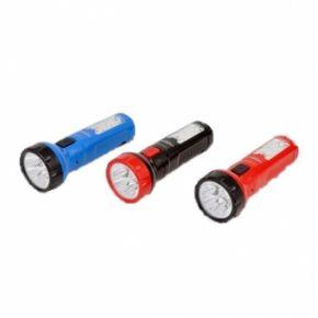 Įkraunamas rankinis prožektorius 5 LED + 6 SMD LED TS1138