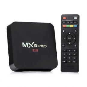 Išmanusis TV priedėlis Mxq Pro 4k Android TV Box IPTV