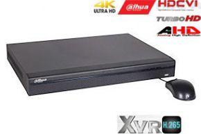 Pentabrid  įrašymo įrenginys 16kam. HDCVI/AHD/TVI/CVBS/IP 4M-N 15fps (non-realtime), analog. 960H 25